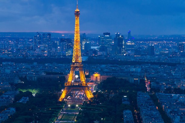 Eiffel Tower from the Montparnasse tower