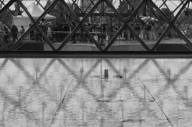 Reflection of the Louvre