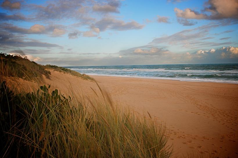 Beach sunset, Australia