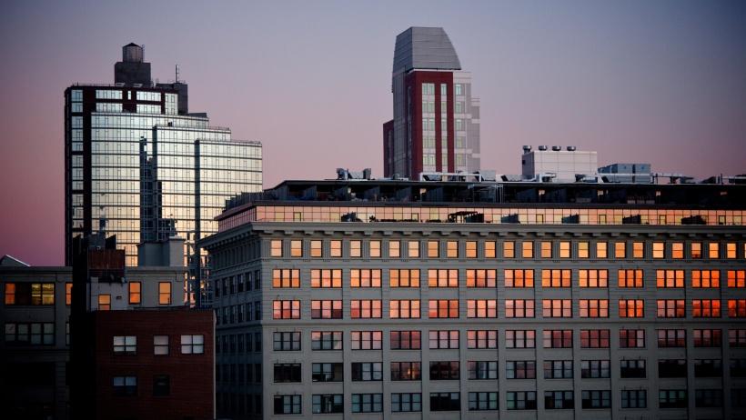 Brooklyn sunset, NYC