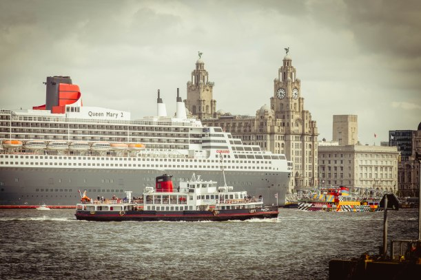 A packed river Mersey
